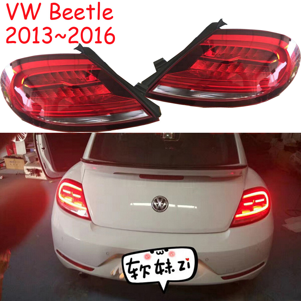 Beetle taillight,2013~2016,Free ship!LED,Beetle rear light,Beetle tail light;polo,passat,touareg,tiguan,beetle fog light tiguan taillight 2017 2018year led free ship ouareg sharan golf7 routan saveiro polo passat magotan jetta vento tiguan rear lamp