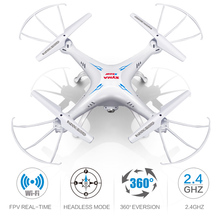RC Drone with Camera WIFI FPV Real Time Remote Control