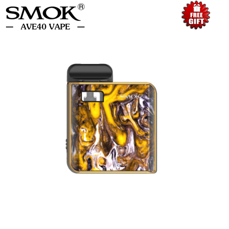 Original Resin Electronic Cigarettes SMOK MICO Pod Kit 700mah Battery 1.7ML Pod Capacity with 0.8ohm Mesh 1.0ohm Coil MTL Vape