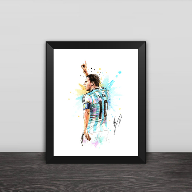 2018 King Argentina Messi Photo Frame 10 Inch Football Fans ...