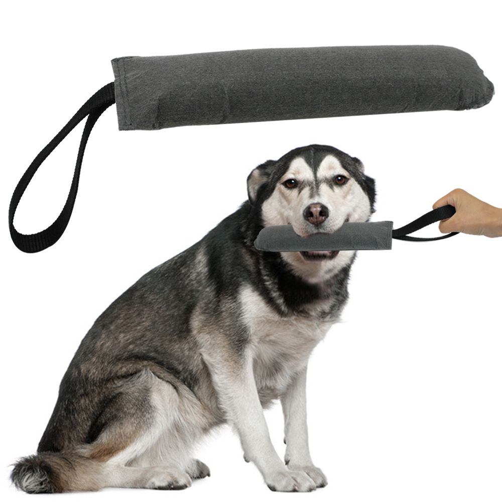 Soft Dog Tug Training Leker K9 Bite Toy Med Håndtak For Police - Pet produkter