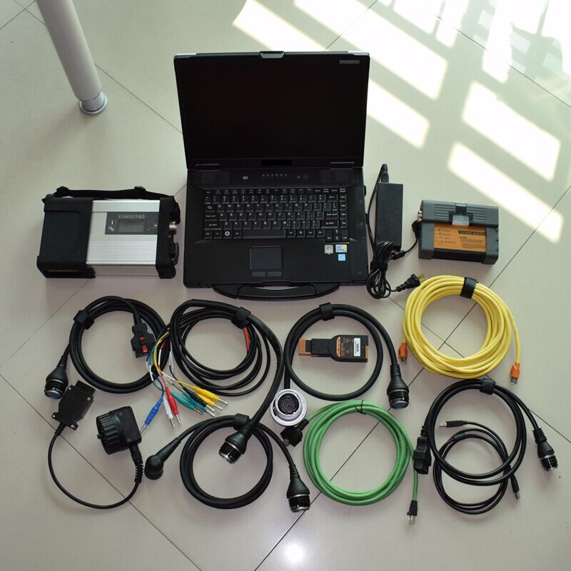 mb star sd c5 for bmw icom a2 diagnostic tool with laptop cf52 with hdd 1tb software 2in1 full cables ready to use  2017 for bmw icom a2 diagnostic scanner full set for bmw icom a2 b c with software 2017 03v icom a2 for bmw in cf 19 laptop