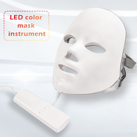 7 Colors Led Facial Mask Led Korean Photon Therapy Face Mask Machine Light Therapy Acne Mask Neck Beauty Spa Led Mask