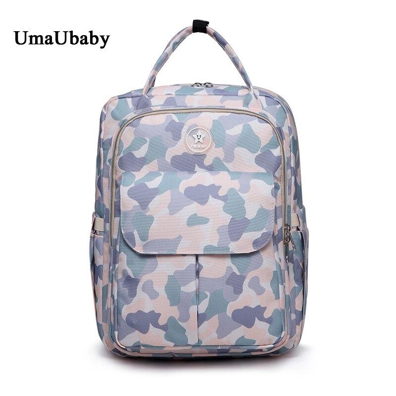 Nouvelle mode sac pour maman Femelle Épaule Multifonctionnel Grande Capacité Bébé Sortant Enceintes sac maman sac à dos pour couches