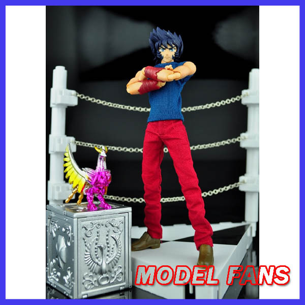 MODEL FANS JACK model saint seiya Cloth Myth EX 2.0 Phoenix Ikki Mufti Cloth form and cloth box Challenge Scene Free shipping free shipping hk saint cloth myth goddess athena form saint seiya action fgure casual suit luxury set