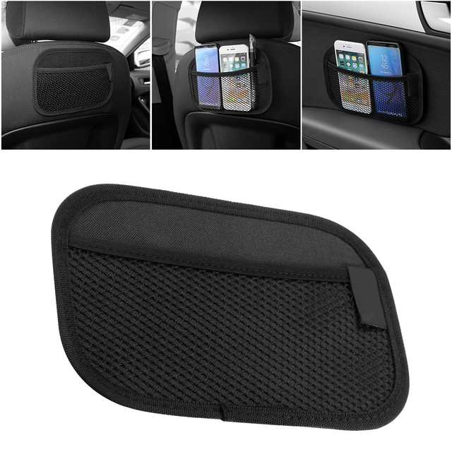Onever Car Storage Net Bag Pocket Organizer Car Styling Auto Interior Accessories Car organizer Stowing Tidying