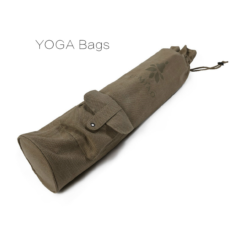 все цены на Waterproof Canvas Yoga Bag 100% Cotton Men And women Outdoor Fitness Sports Large Capacity Special Multi-function Yoga Mat Bag