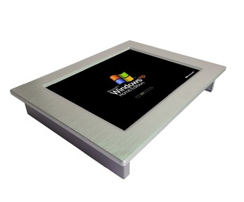 Factory cheap price 10.4 inch cost effective fanless All in one PC mini industrial touch screen panel pc
