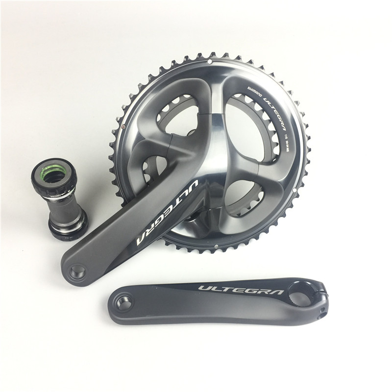 Road Bike Shimano Ultegra R8000 11 Speed bicycle Crankset 170mm 172.5mm 175mm 50-34T 53-39T chain wheel ,BBR60 is available west biking bike chain wheel 39 53t bicycle crank 170 175mm fit speed 9 mtb road bike cycling bicycle crank