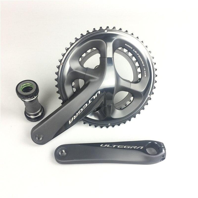 Road Bike Shimano Ultegra R8000 11 Speed font b bicycle b font Crankset 170mm 172 5mm