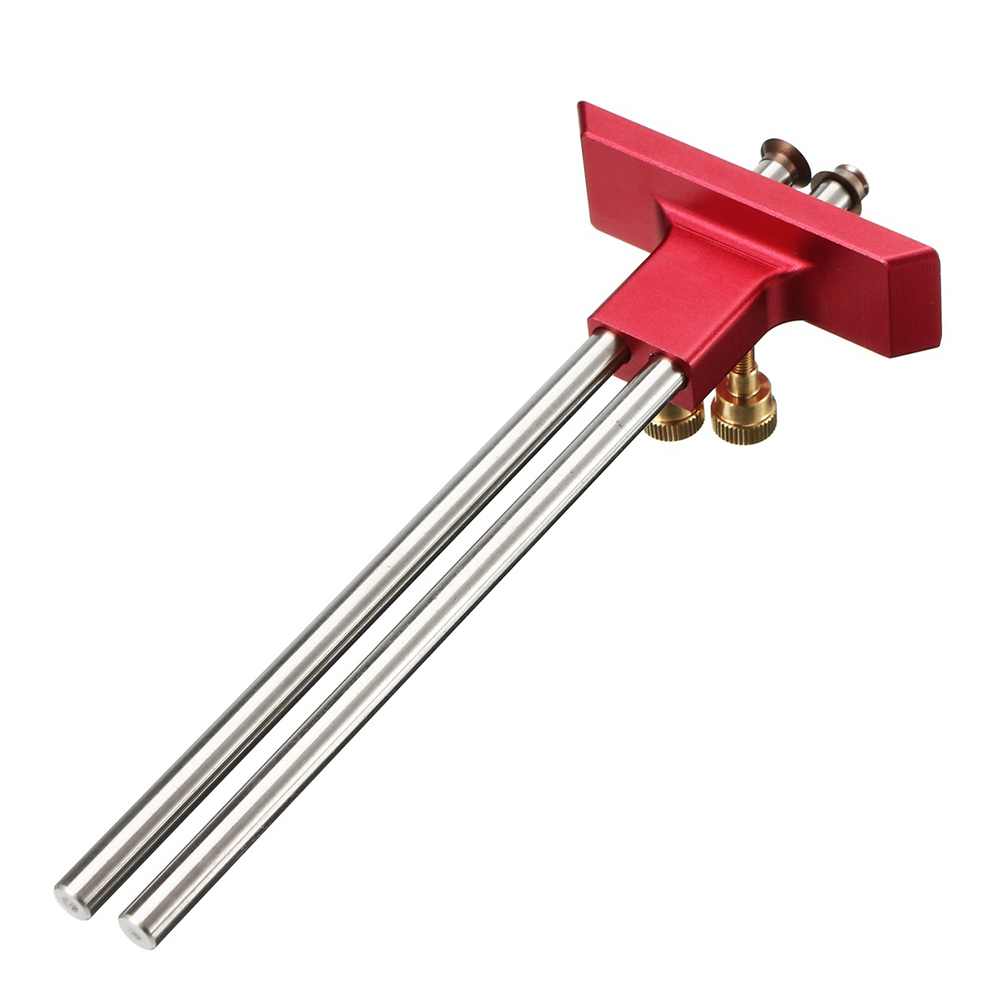 Digital Caliper Measuring Tool Woodworking Measurement Mark Tool Double Head Wood Marking Scriber AI88