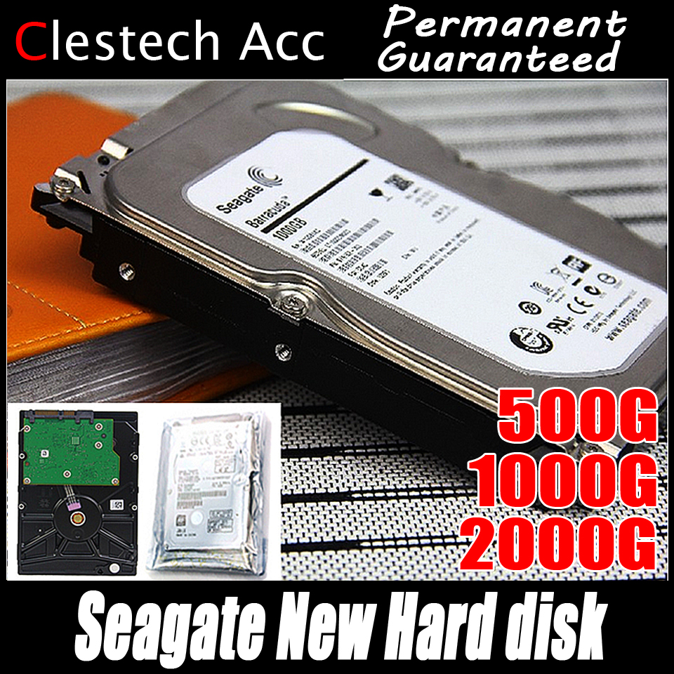 Seagate 3.5inch 7200RPM SATA 5000G 1000G 1TB 2TB hard disk High speed Hdd for computer monitoring DVR NVR system Storage
