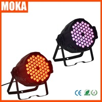 2pcs/lot Led Par Lights 54*3w RGBW 4in Stage Light Wash Light for Home Wedding Nightclub Show Party Decorations