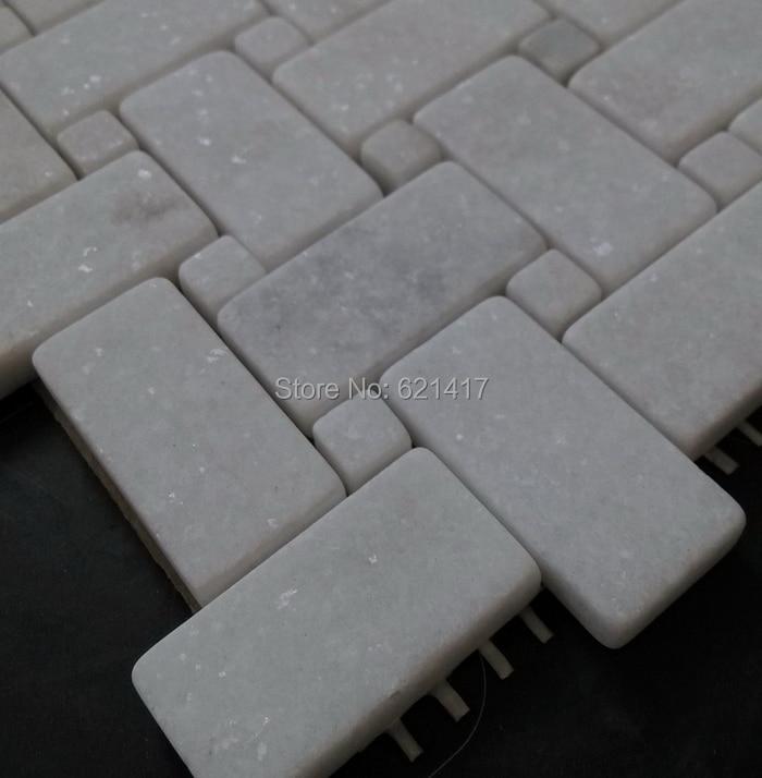 wall tiles natural jazz white marble stone mosaic tiles pattern bathroom tiles hallway tileschina