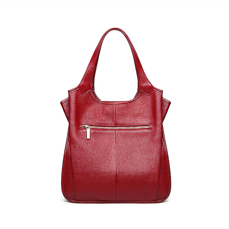 9fe0ee98 Aliexpress.com : Buy Genuine Leather, 3 Compartments Large Shoulder Bag,  Women 100% Natural Cowhide Shoulder Shopping Bag, Fashion for girl A285  from ...