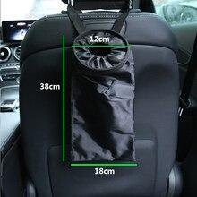 Auto Storage bags Portable Car Auto Dustbin Trash Garbage Dust Rubbish Bin Can Box Case Holder