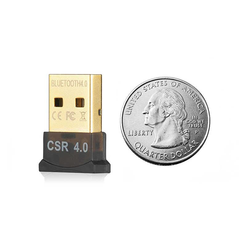 2018 Auto Parts Bluetooth Adapter Converter CSR Chip Double Mode Transport  Bluetooth Receiver 4 0 Car Kit Desktop Computer USB