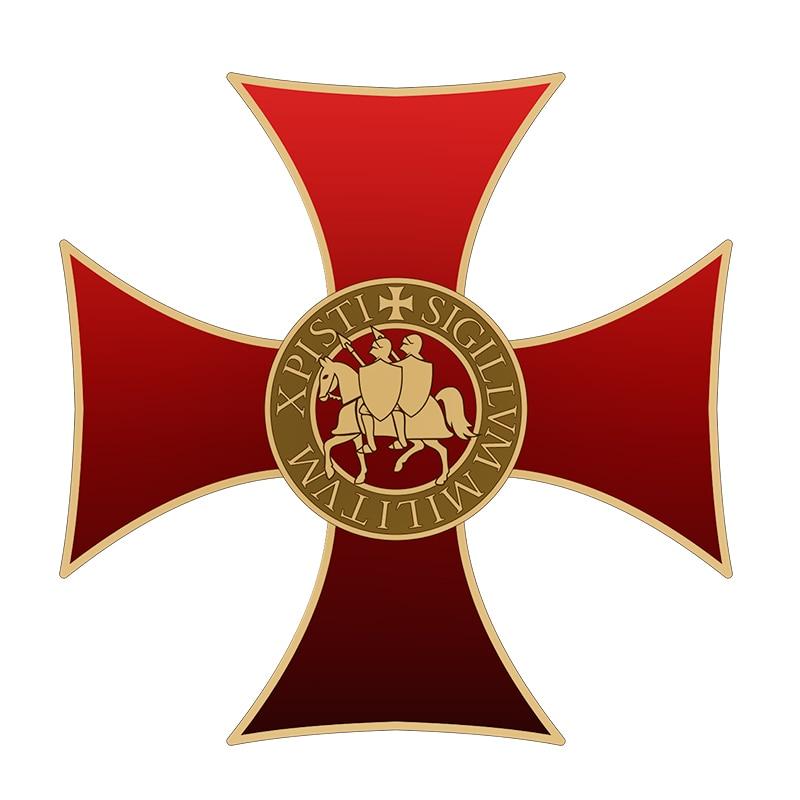 templar cross pin badge-in Pins & Badges from Home & Garden
