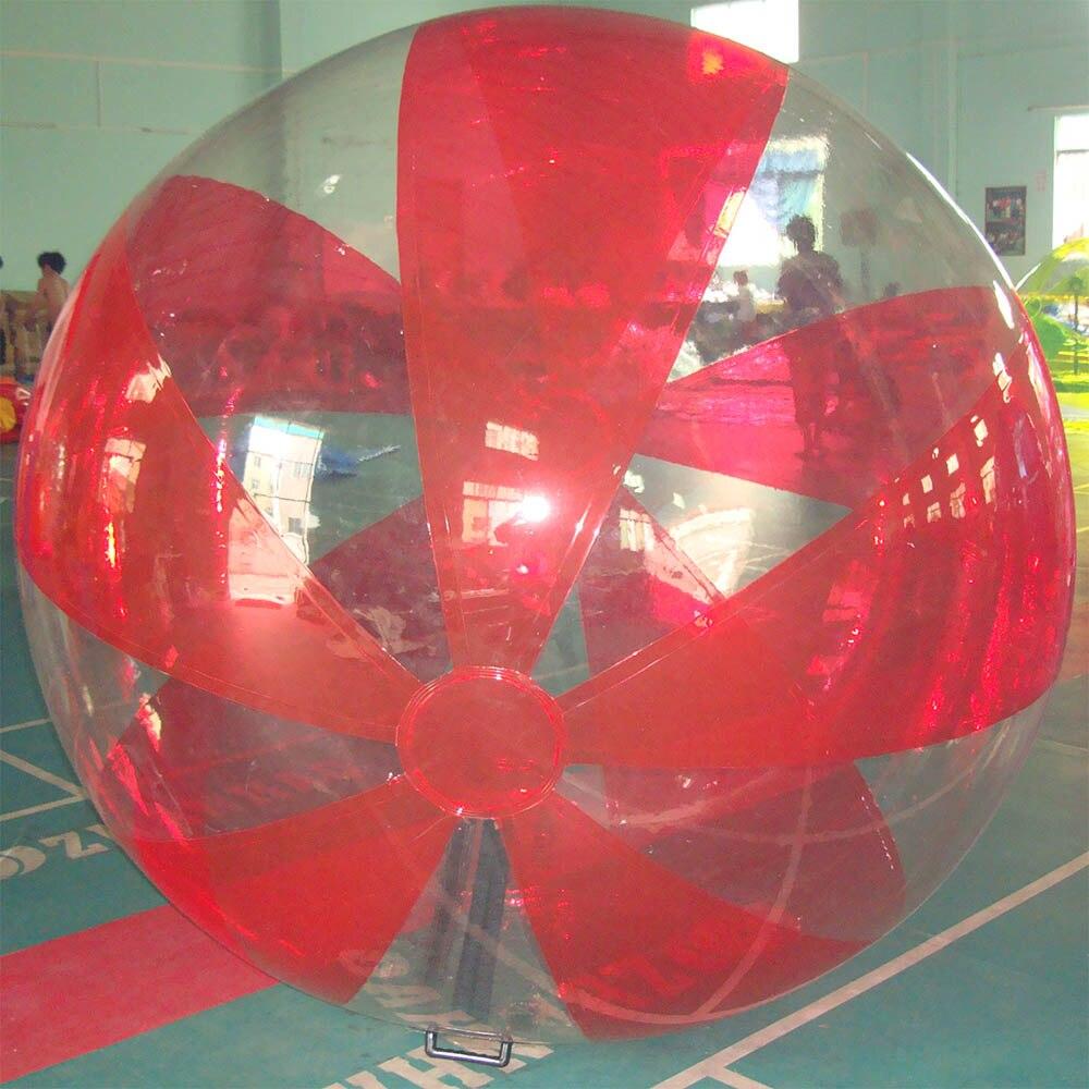 Лидер продаж 2 м надувной мяч ходьбы воды, хорошее качество с TIZIP Германия молния красочные шарик воды