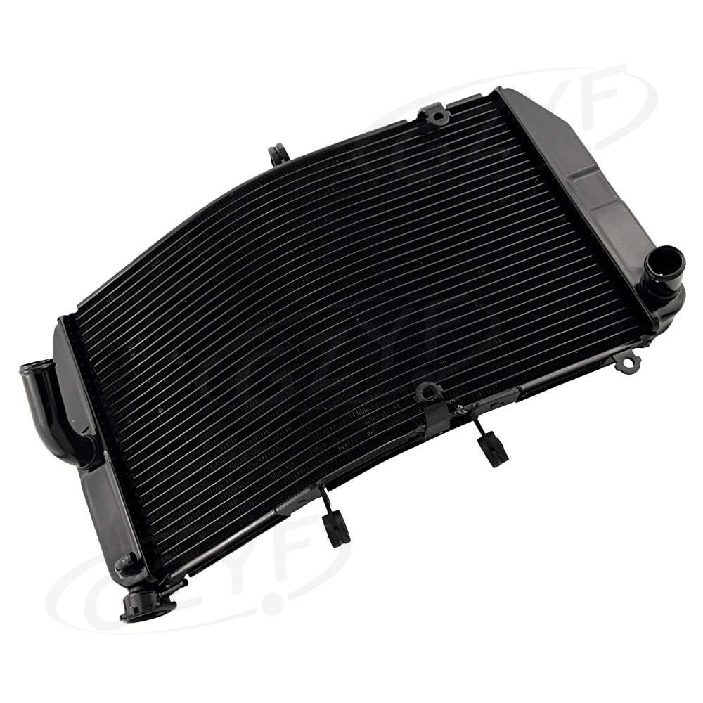 Aluminum Motorcycle Cooling Radiator For HONDA 2003 2004 2005 2006 CBR600RR F5, Motor Cooler Parts Accessories, Black Color motorcycle radiator for honda cbr600rr 2003 2004 2005 2006 aluminum water cooler cooling kit