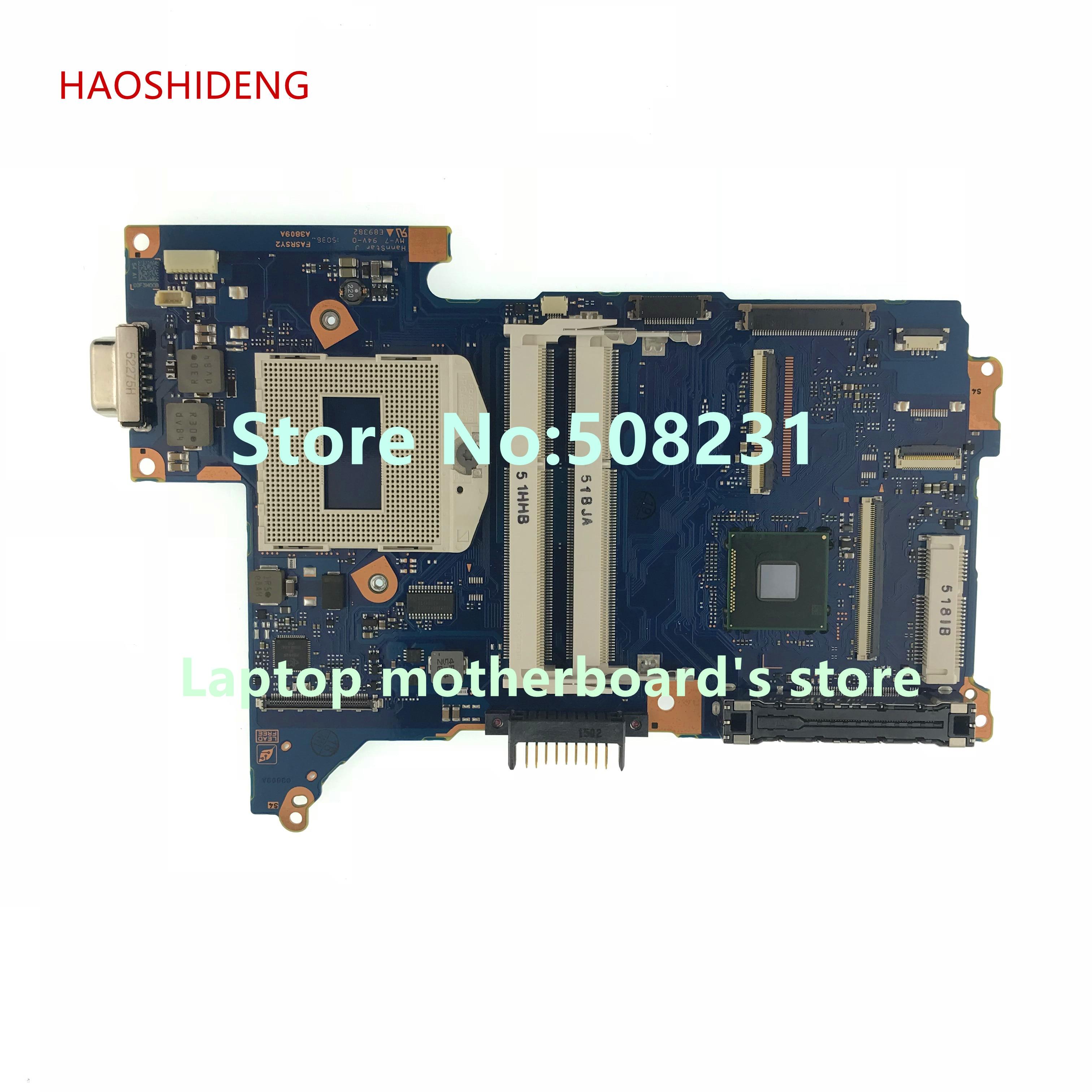купить HAOSHIDENG FASRSY2 mainboard For Toshiba Portege R30 R30-A laptop motherboard A3809A socket PGA 947 онлайн