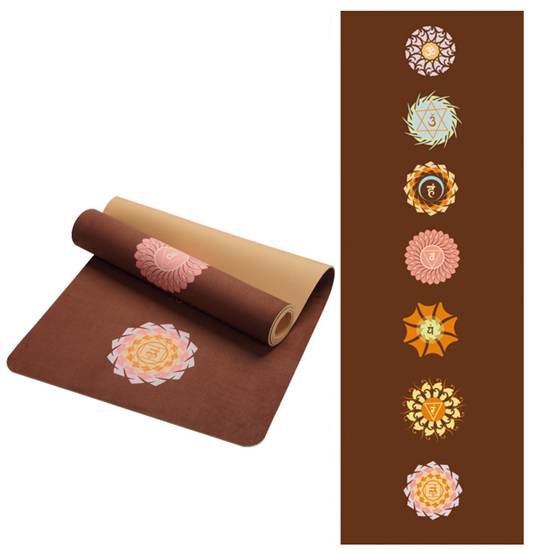 5mm Suede TPE Non-slip Foldable Yoga Mats For Fitness Yoga Gym Exercise sports Mattress Outdoor Pads Fitness acupressure Mat 183x61x0 6cm none slip yoga mat tpe with bag and rope double layers fitness gym exercise mat gymnastics mats