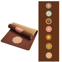 5mm Suede TPE Non slip Foldable Yoga Mats For Fitness Yoga Gym Exercise sports Mattress Outdoor Pads Fitness acupressure Mat