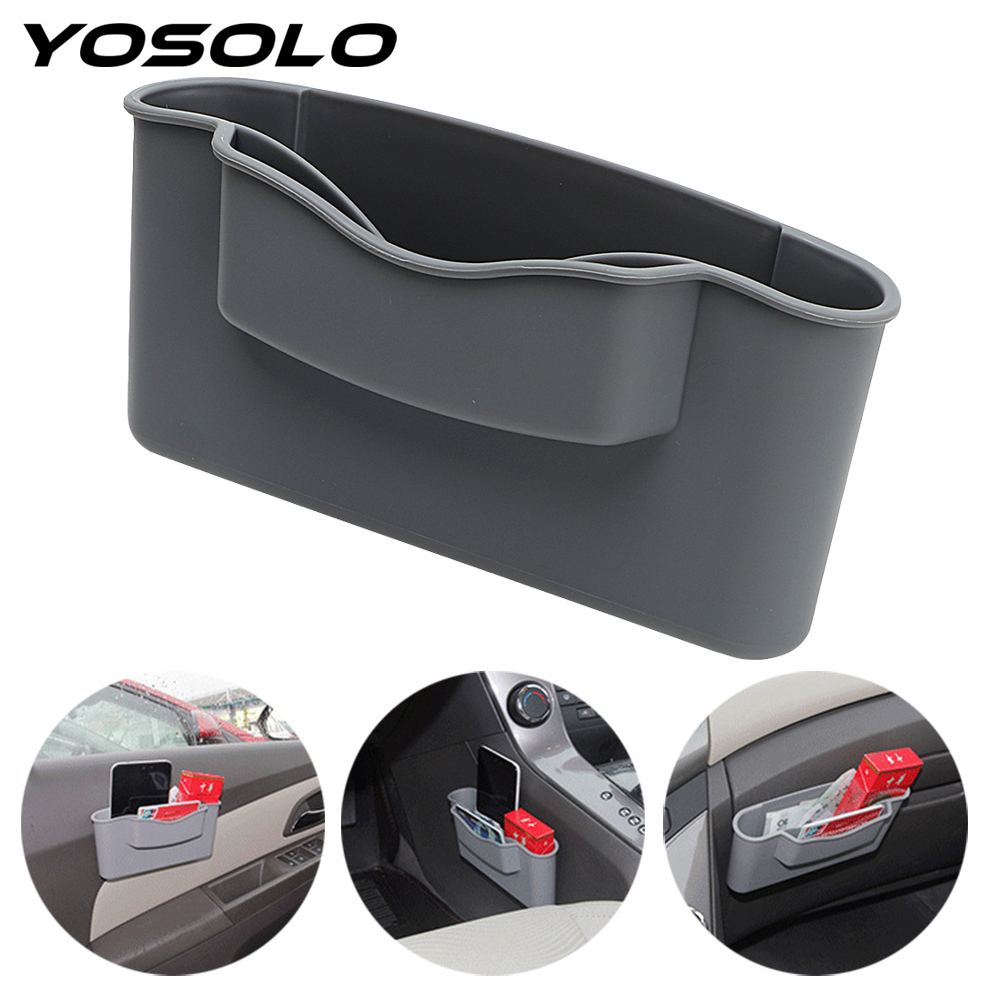 yosolo car seat crevice storage box catcher catch storage organizer box gap filler multi. Black Bedroom Furniture Sets. Home Design Ideas