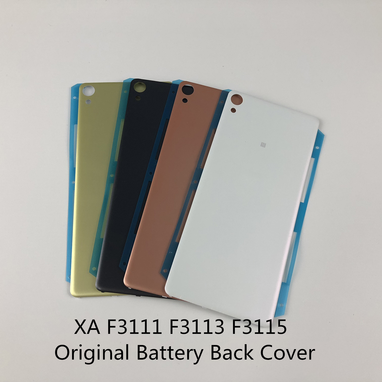 Original For Sony Xperia XA F3111 F3113 F3115 Housing Battery Back Cover+Sticker