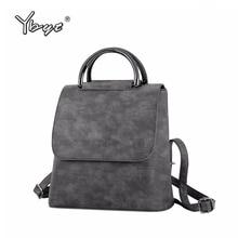 YBYT mochila de piel sintética multiusos para mujer, bolsos de hombro para compras para mujer, mochilas de viaje informales, novedad de 2019