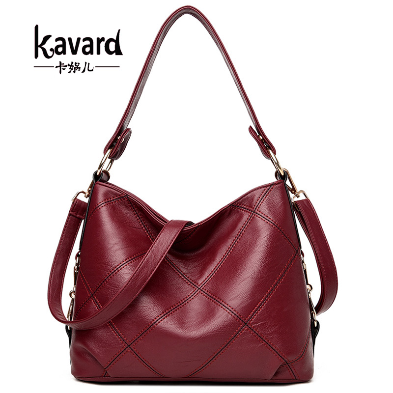 Kavard Fashion Crossbody Bags For Women Single Shoulder Bags Ladies PU Leather Bags Women Handbags sac a main femme de marque casual women shoulder bags pu leather female big tote bags for ladies handbag large capacity sac a main femme de marque ulrica