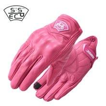 Xs s-xl verão moto rcycle luvas mulheres rosa homem luva à prova dwaterproof água moto ciclismo moto rbike luvas sem dedos s guantes moto