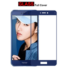 Tempered Glass For Huawei Honor 8 Lite Full Screen Protector Protective Film P8 2017 GR3 P9