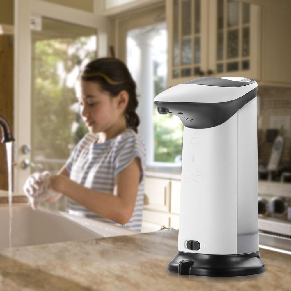 Stainless Auto Handsfree Sensor Touchless Soap Dispenser Infrared IR