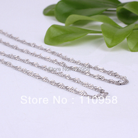 925 Sterling Silver Rope Chain Necklace 16 18 And 19 Inches 1 7mm S7003 NAL