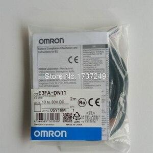 Image 1 - 100% new original OMRON chuyển đổi quang điện cảm biến E3FA DN11 E3FA DN12 E3FA DN13 E3FA DN14 E3FA DN15 cảm biến 2 m dây
