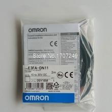 100% yeni orijinal OMRON fotoelektrik değiştirme sensörü E3FA DN11 E3FA DN12 E3FA DN13 E3FA DN14 E3FA DN15 sensörü 2 M kablo