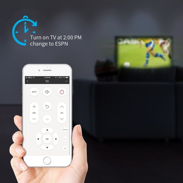 IR Control Hub Works  Alexa RM Mini3 Smart Home Wi-Fi Enabled Infrared Universal Remote Control One for All Control 3