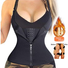 Afslanken Riem Ondergoed Zweet Sauna Body Shaper Taille Trainer Korsetten Modellering Riem Thermo Afslanken Vest Voor Vrouwen