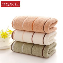 Face Towel 4pcs/Lot 34*76 cm Washcloth 100%Cotton Striped Bath Towels for Adults toallas Hand Sports Towel hand towel and face bayramaly 50 90 cm lilac