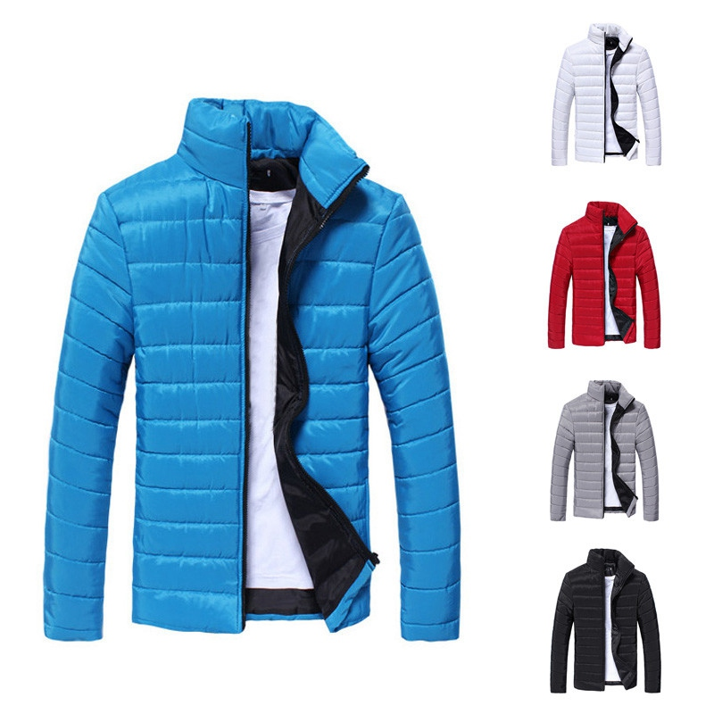New Arrival Fashion Mens Jackets and Coats Clothes Jackets Men 2019 Thick Warm Winter Autumn Long-sleeved coat