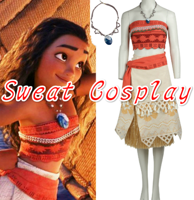 high quality newest moana costume halloween costumes for