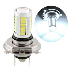 H4 5630 33SMD double lampe voiture LED feu antibrouillard avant(China)