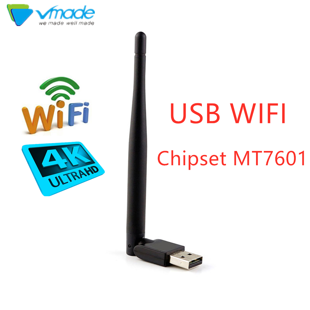 Vmade USB 3.0 WiFi Wireless Network Card 150M 802.11 N LAN Adapter With Rotatable Antenna For Laptop PC Mini MT7601 Wifi Dongle