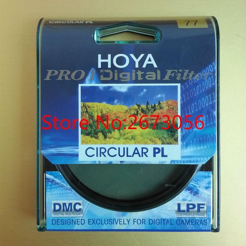 Prix pour HOYA PRO1 Numérique CPL 77mm Polarisant/Polariseur Filtre Pro 1 D MC Cir-PL Pour Pentax Canon Nikon Sony Olympus Leica Camera lentille
