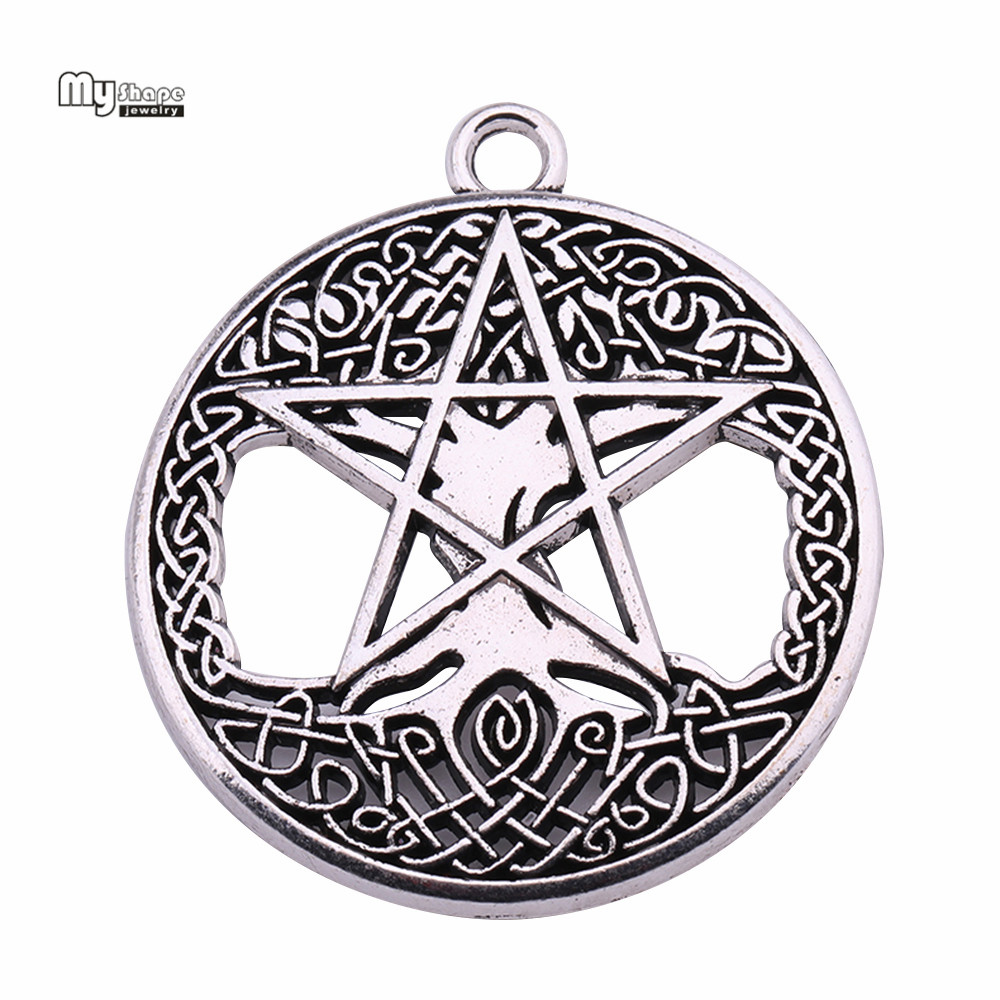 Charms for Bracelets and Necklaces Star Of David Charm With Lobster Claw Clasp