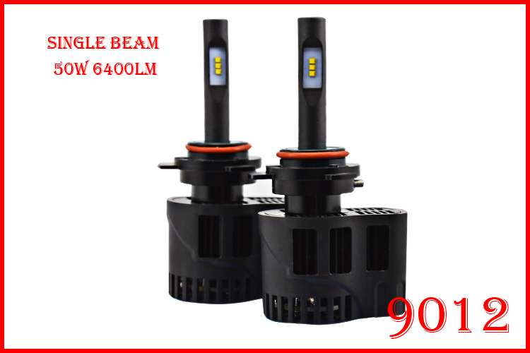 ФОТО 1 Set 9012 HIR2 50W 6400LM P6 Auto LED Headlight K Mini Size ALL IN ONE LUMILED LUXEON ZES 12/24V 3000K 4300K 5000K 6000K CANBUS