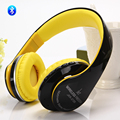 Stereo Handsfree Headfone Casque Audio Bluetooth headphon  Headset Earphone Cordless Wireless Headphone Support TF Card FM Radio