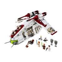 Legoing Звездные войны кирпичи Республика Gunship Legoing Звездные войны Клон обиванг амидалы строительные блоки игрушки для детей с Legoings