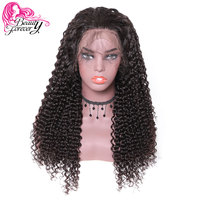 bf7d94696 BeautyForever Hair Malaysian Curly Human Hair Wig 4*4 13*4 Lace Front Remy